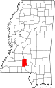 Lawrence County, Mississippi